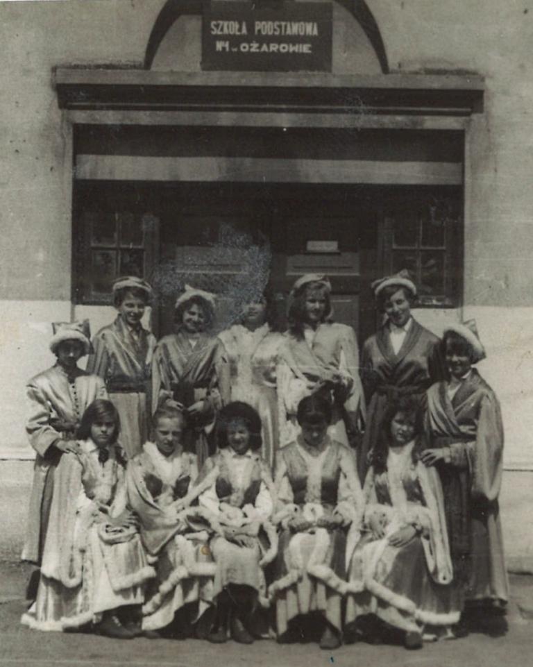 Zespół tańca ludowego w roku 1959/60
