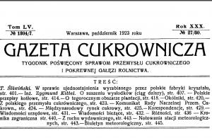 Poświęcenie sztandaru straży pożarnej w Józefowie w 1923 roku