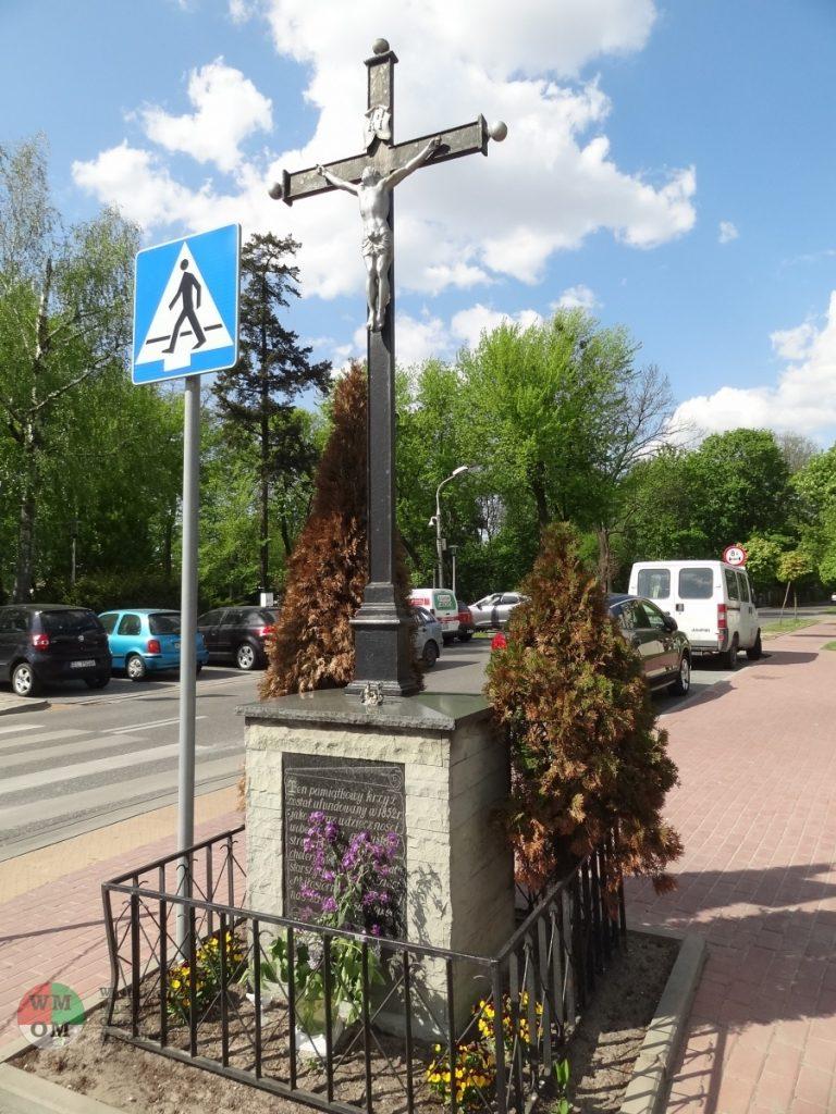 Krzyż choleryczny wOżarowie Mazowieckim