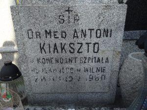 DrAntoni Izydor Kiakszto (1884-1960)