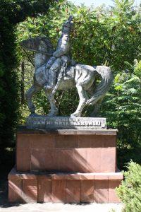Spotkanie przy pomniku generała J. H. Dąbrowskiego wPilaszkowie