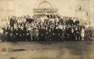 Szkoła Powszechna wOżarowie 1937 rok