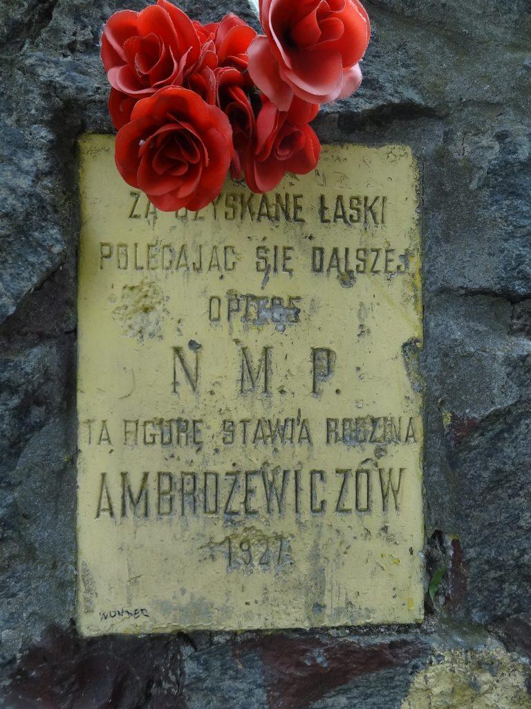 Historia Figury Ambrożewiczów