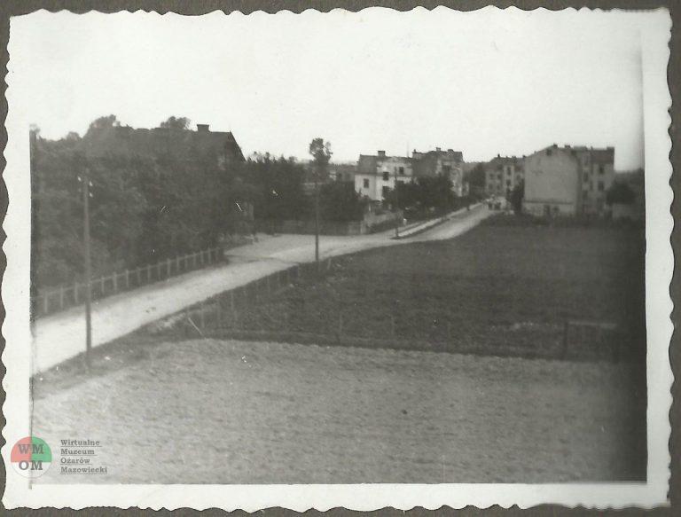 Ulica Kolejowa  – strona południowa