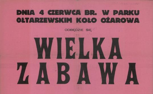 100 lat zabaw wParku Ołtarzewskim