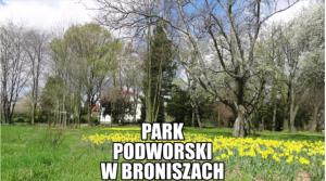 Park podworski wBroniszach